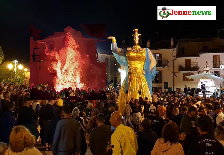 Grande attesa a Jenne per il tradizionale Ballo della Pantasema edizione 2019
