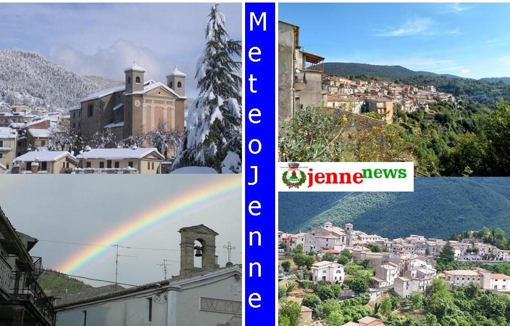 Previmeteo Jenne, weekend di metà aprile incerto e variabile con temperature sotto media
