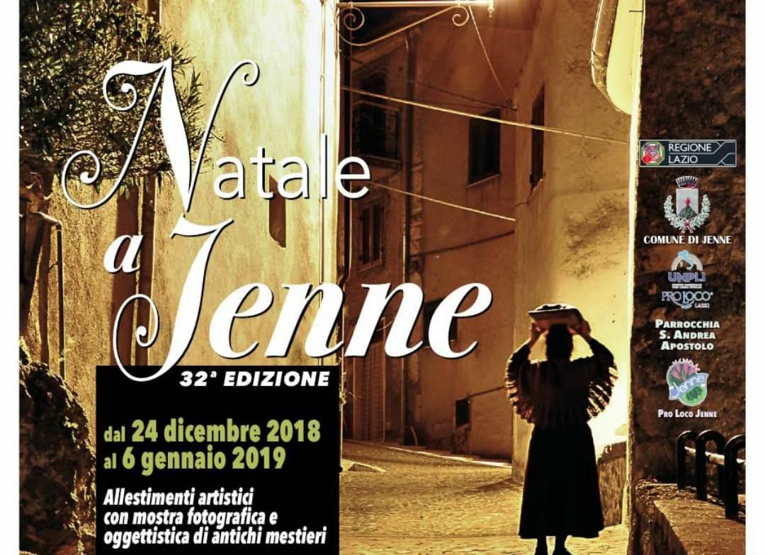 Dal 15 dicembre al 20 gennaio, le lunghe festività di Jenne. Il presepe vivente, eventi, mostre e degustazioni