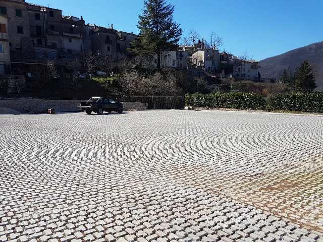 Ultimati i lavori per il mega parcheggio di Jenne. L'area pubblica potrà accogliere oltre 250 veicoli