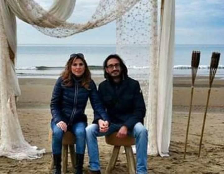 Nozze a Frascati per Gianluca Armeni e Raffaella Augello, gli auguri della comunità jennese