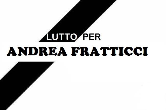 Lutto a Jenne per la scomparsa di Andrea Fratticci