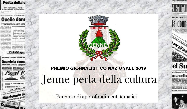 """Grande attesa per la II edizione del premio giornalistico Nazionale """"Jenne perla della Cultura"""". La giuria presieduta da Michele Cucuzza"""