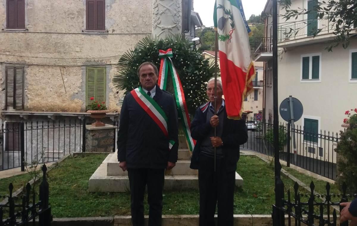 """Jenne celebra le Forze Armate, il sindaco Pacchiarotti: """"ritrovarci sempre nei valori del tricolore"""""""