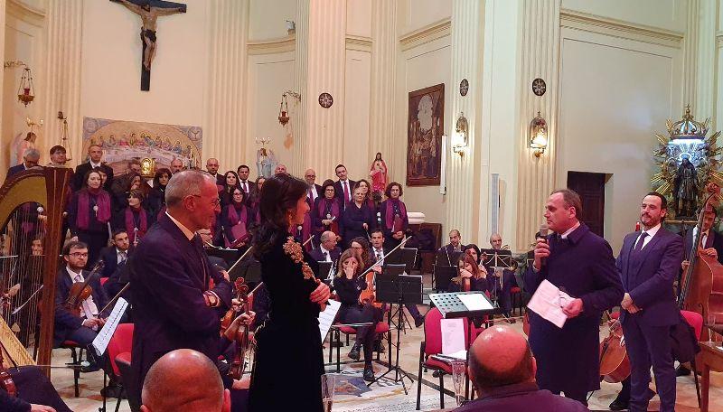 Gran concerto di fine anno a Jenne, ovazioni per Angela Nicoli soprano del Teatro dell'Opera