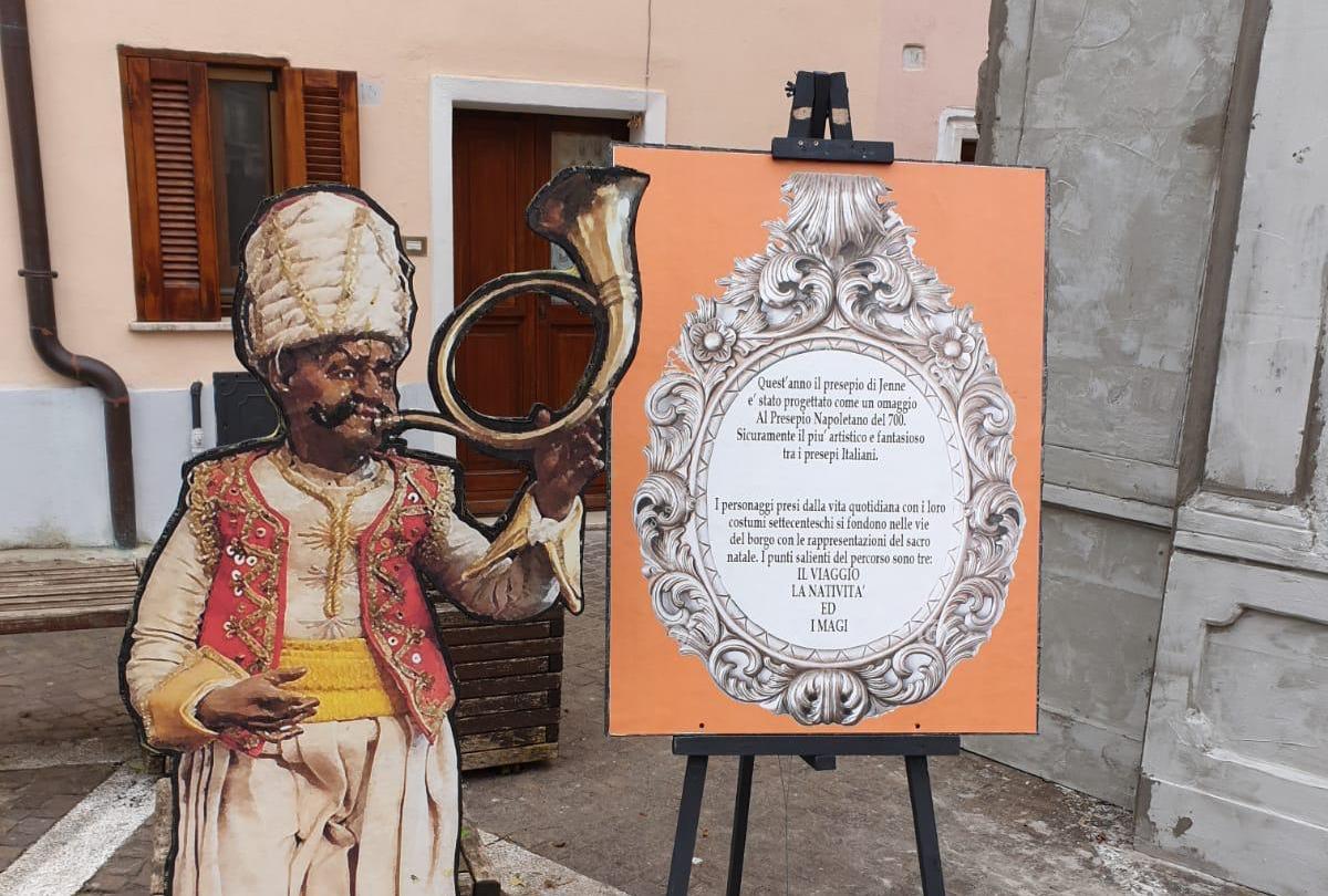 A Jenne arriva il Presepe tradizionale del 700, ed è omaggio all'arte!