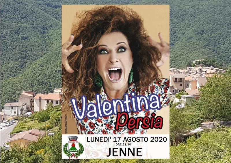 A Jenne gran serata con Valentina Persia
