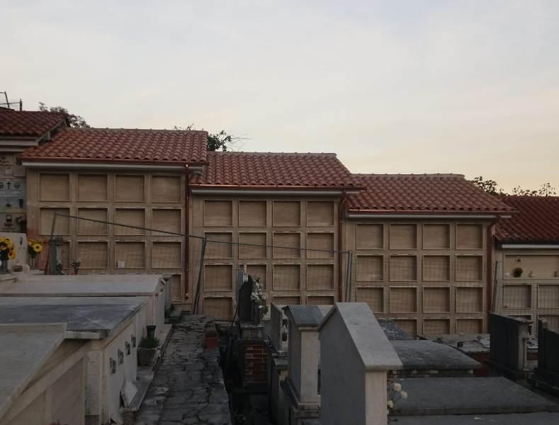 Completati a Jenne i lavori di costruzione dei nuovi loculi cimiteriali