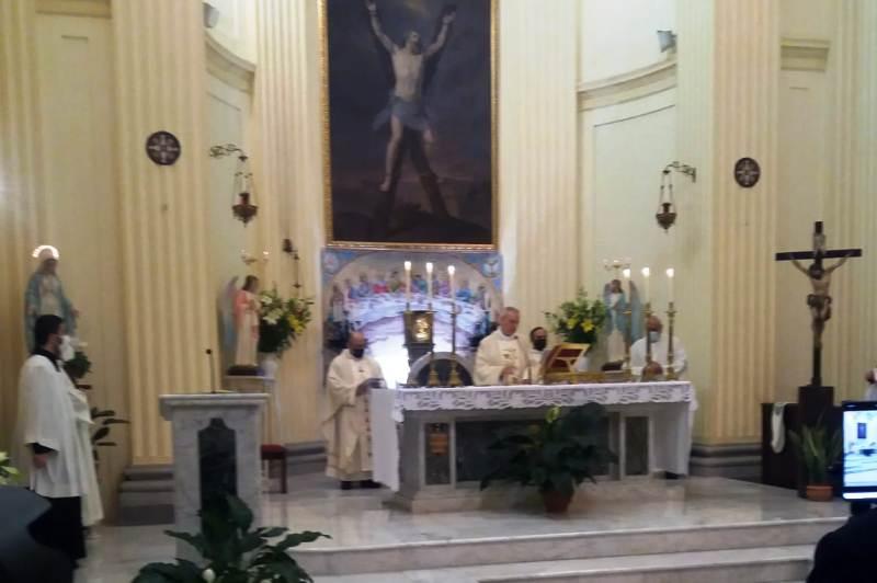 Solenne celebrazione a Jenne per il 25° anniversario di sacerdozio del parroco don Gaetano Maria Saccà