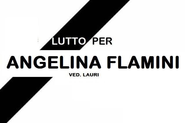 Lutto a Jenne per la scomparsa di Angelina Flamini ved. Lauri