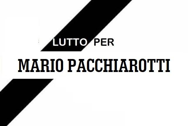 Lutto a Jenne per la scomparsa di Mario Pacchiarotti